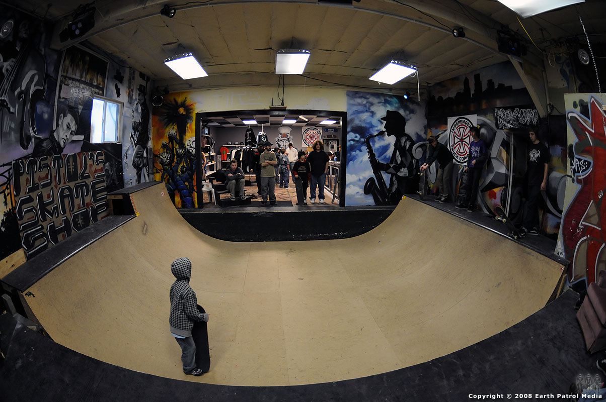 Pistol's Skate Shop and Mini-Ramp