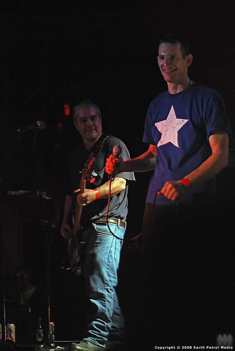 Jeff Pezzati and Pierre Kezdy - On Stage at Dante's