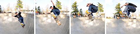 Johnny Turgesen - BS Ollie off Hip @ Glenhaven