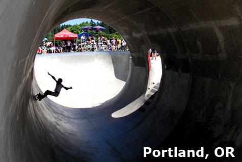 Oregon Trifecta - Pier Park, Portland Oregon