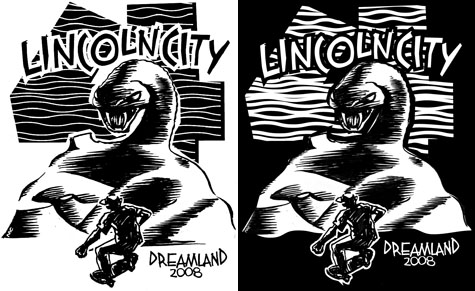 Light and Dark LC 4 Benefit T-Shirts by Mark Conahan