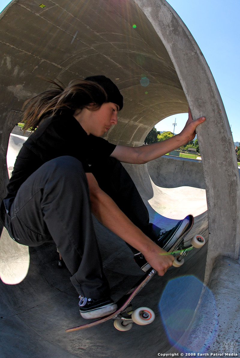 Kevin - Hand on Pipe @ Pier Park