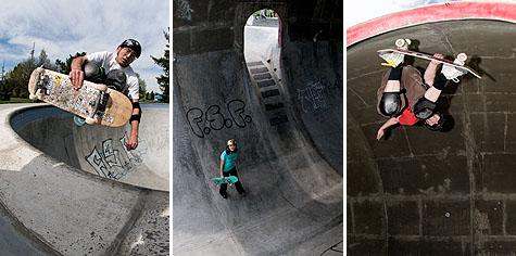MC, Anna and Shawn at Pier Park