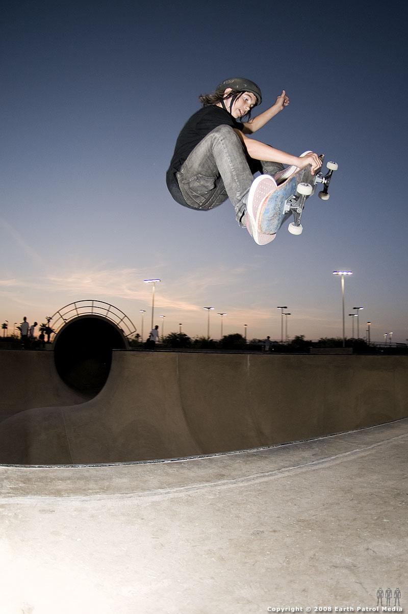 Seth - Frontside 180 @ Goodyear