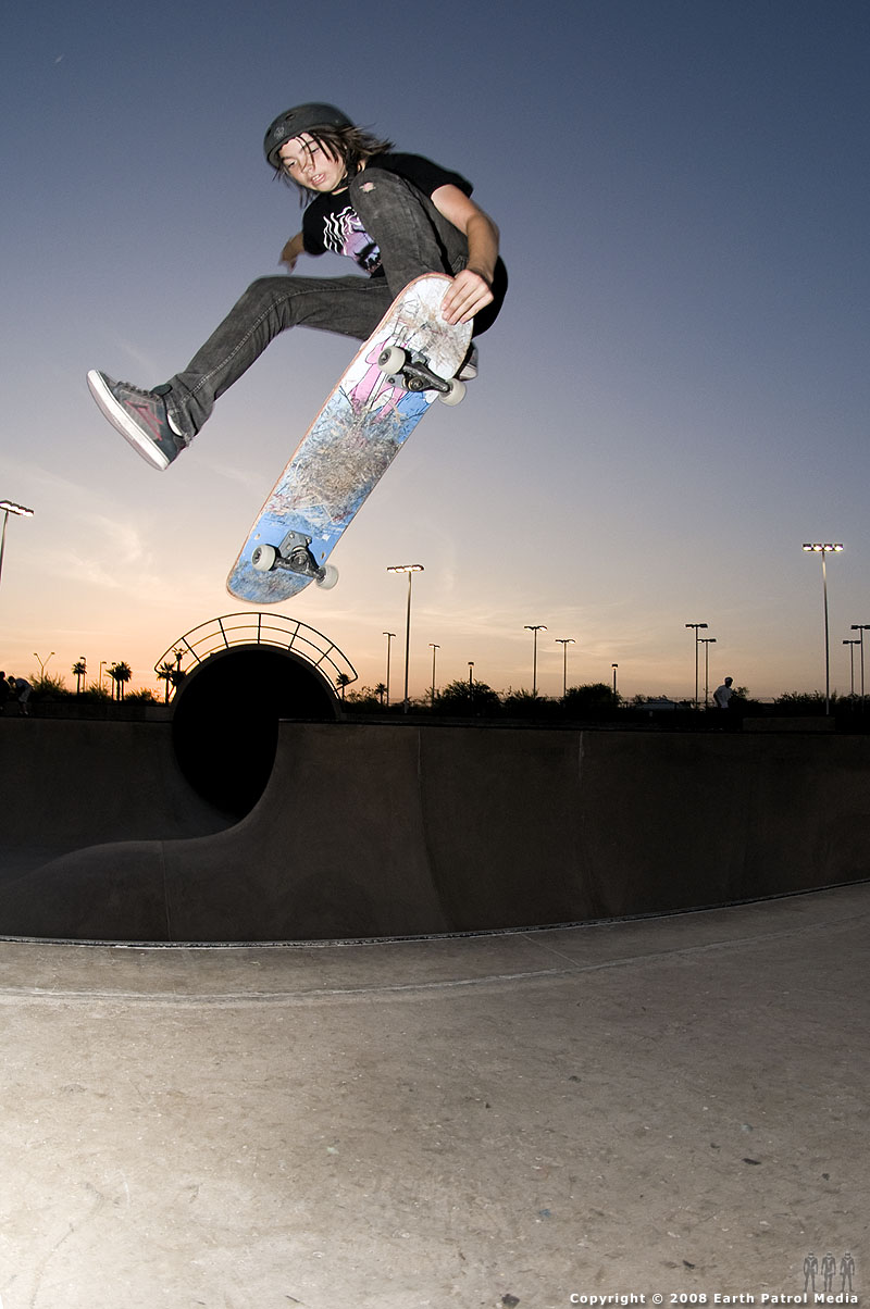 Seth - One Footer Nose Grab @ Goodyear