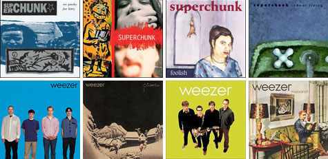 YouTube Tuesday April 8, 2008 - Superchunk and Weezer