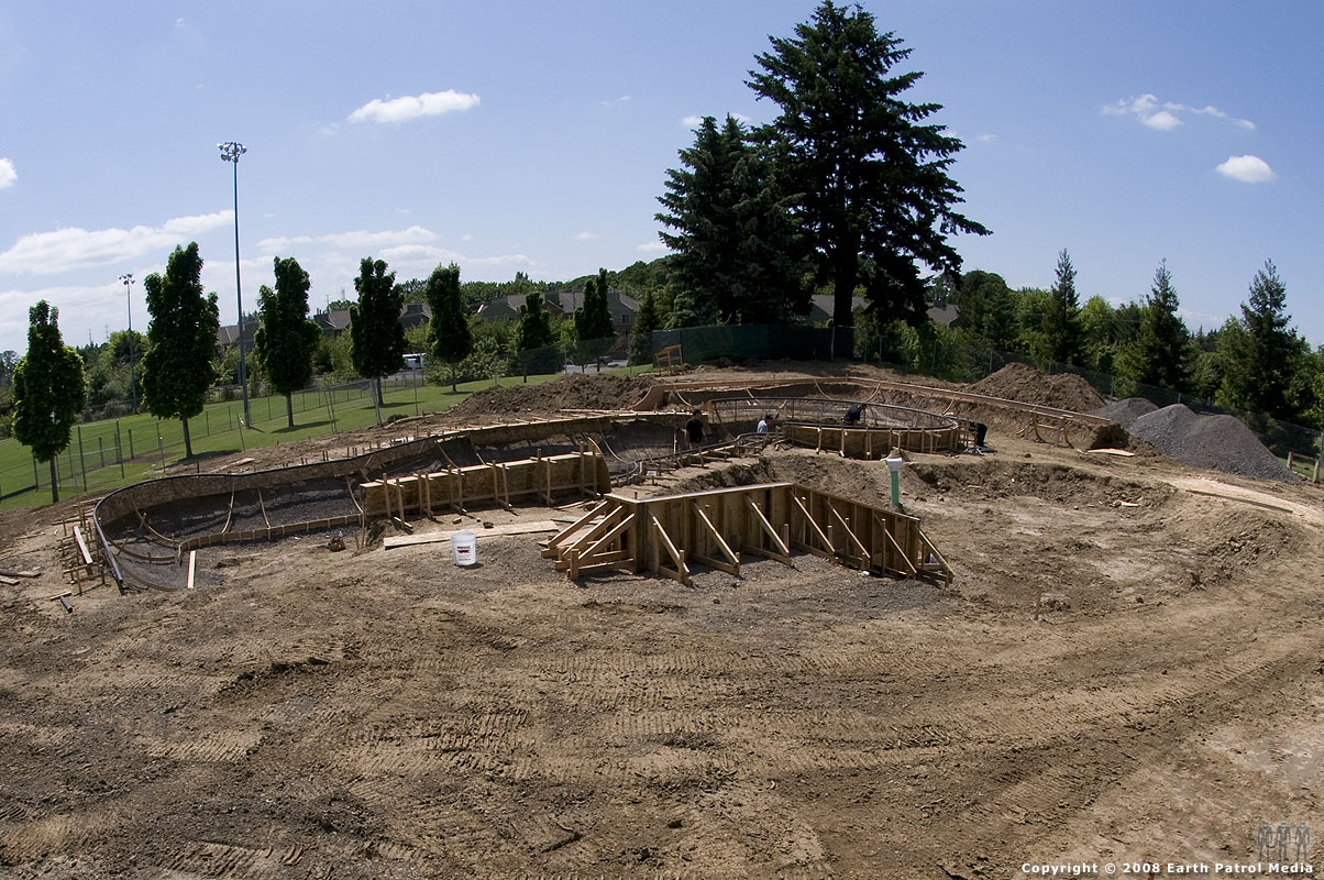 Looking West - Beaverton Bowl