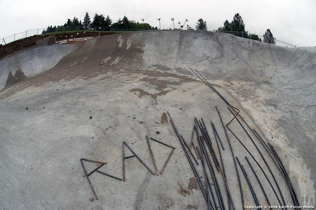 Rad rebar - Gabriel Park