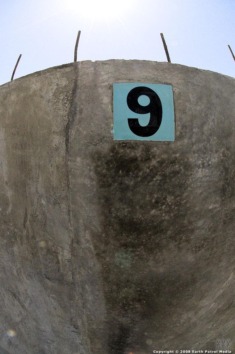 Nine Bowl Marker @ Gabriel Park