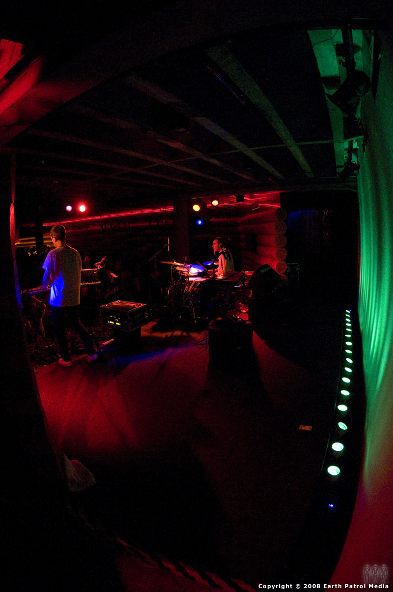 The Presets - Backstage, right, @ Doug Fir, Portland, Oregon