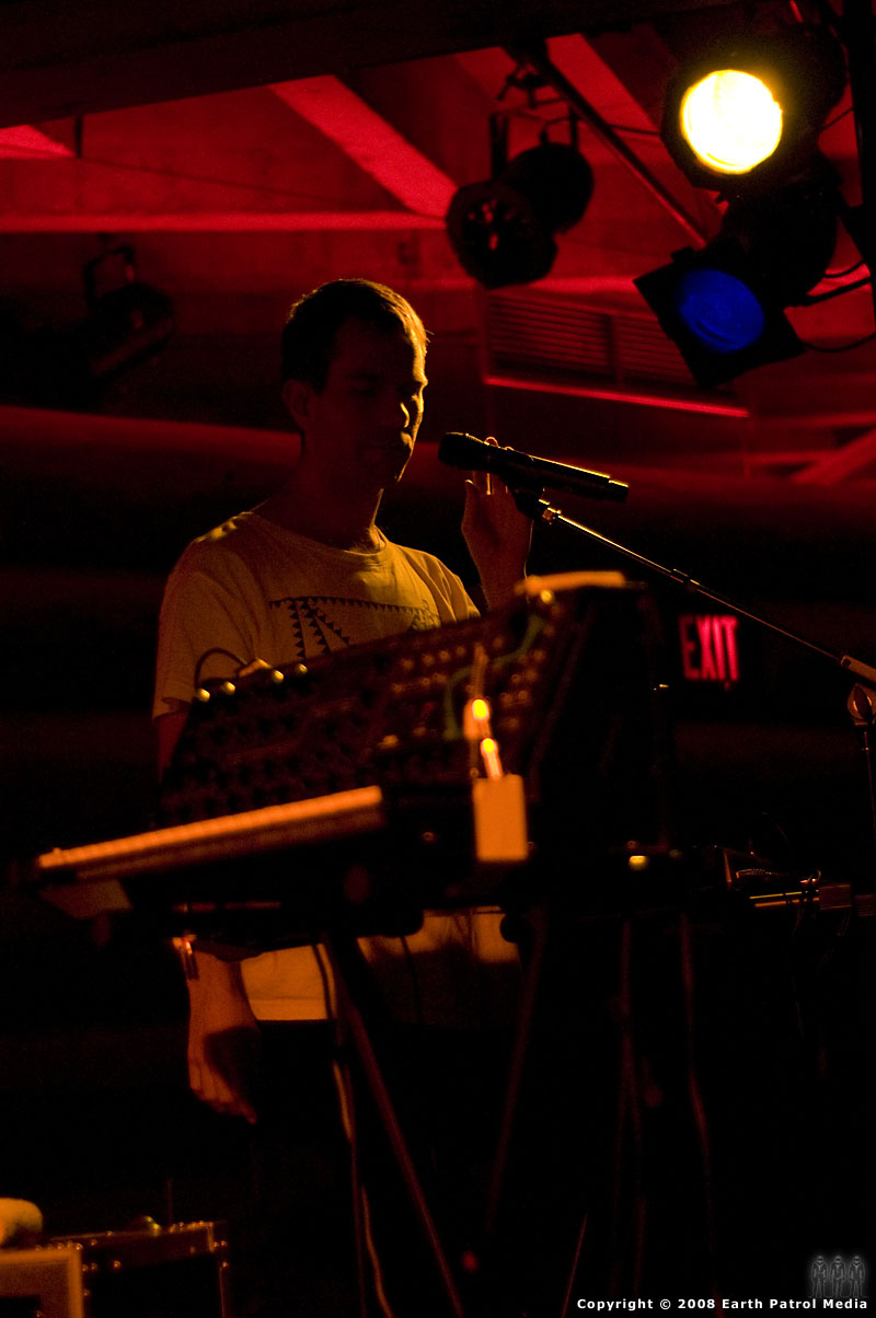 The Presets - Julian Hamilton @ Doug Fir, Portland, Oregon