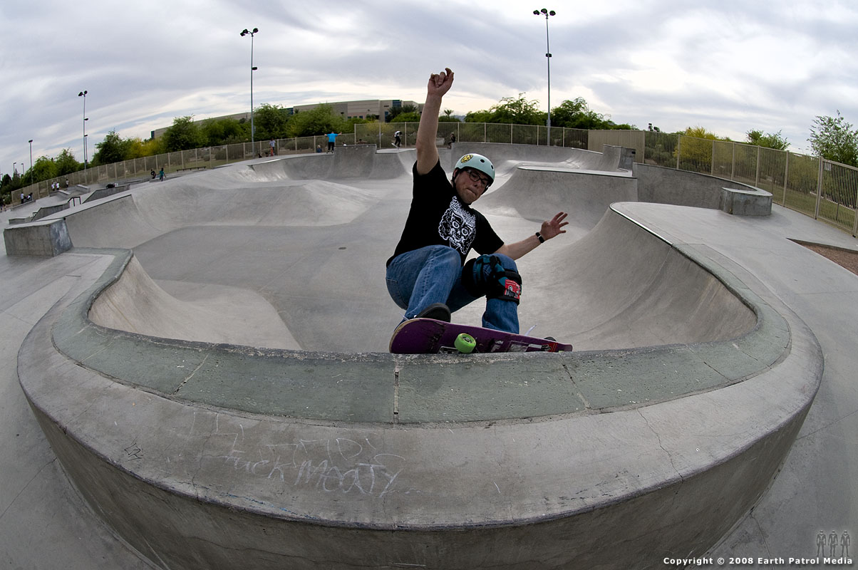 Rich - FS Grind Clam @ Tempe