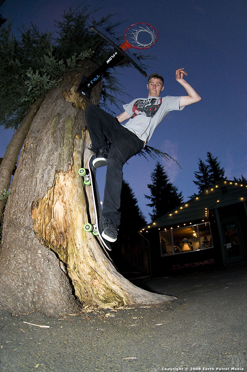 Tim - Tree Fakie @ Windells