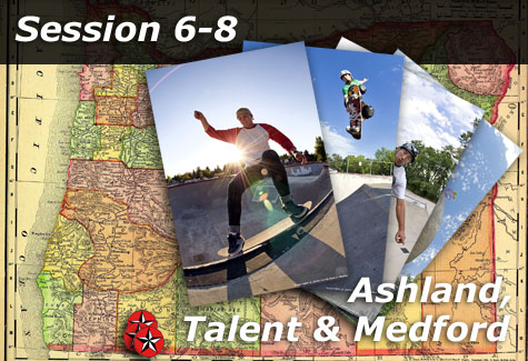 Ashland, Talent and Medford Skateparks