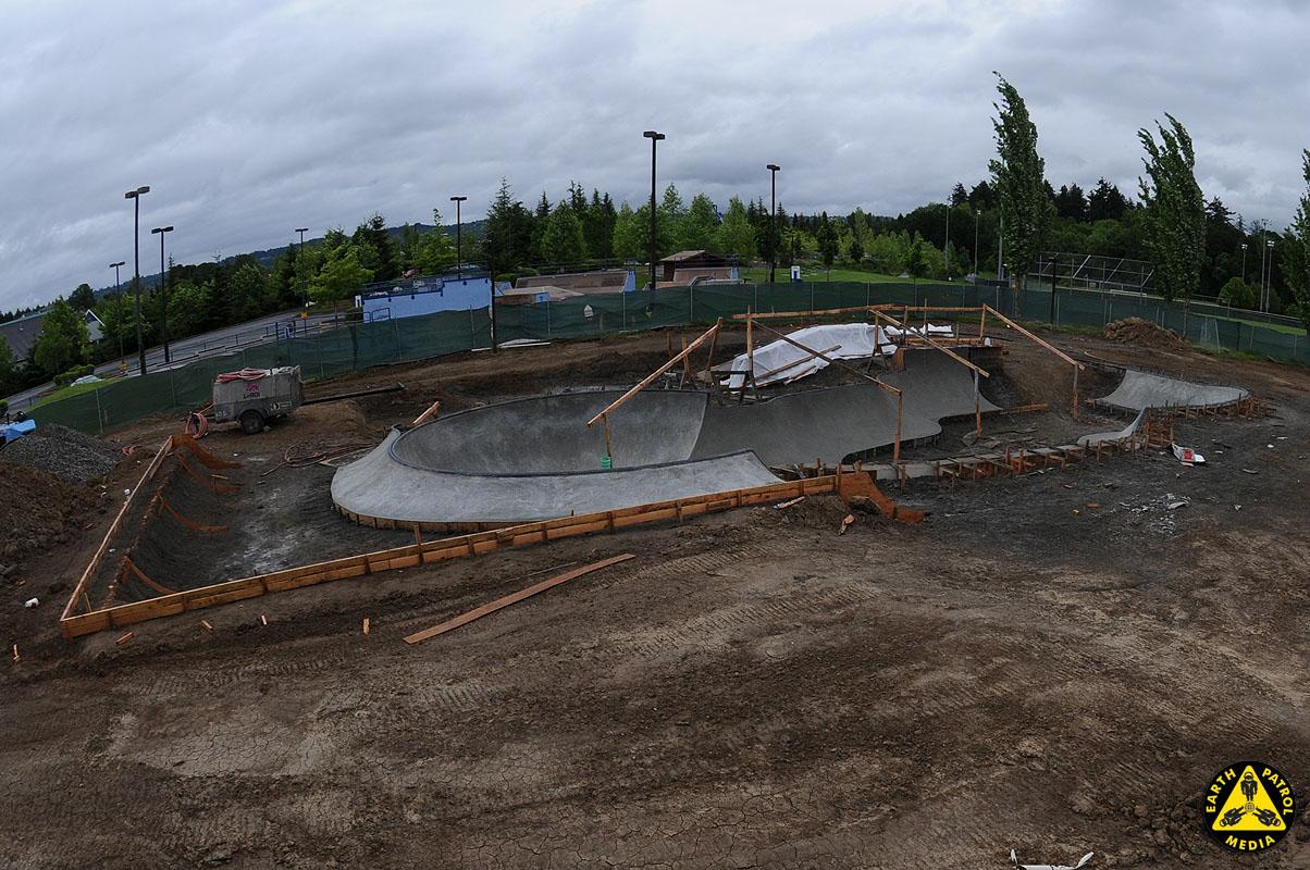 Beaverton Bowl - Looking North