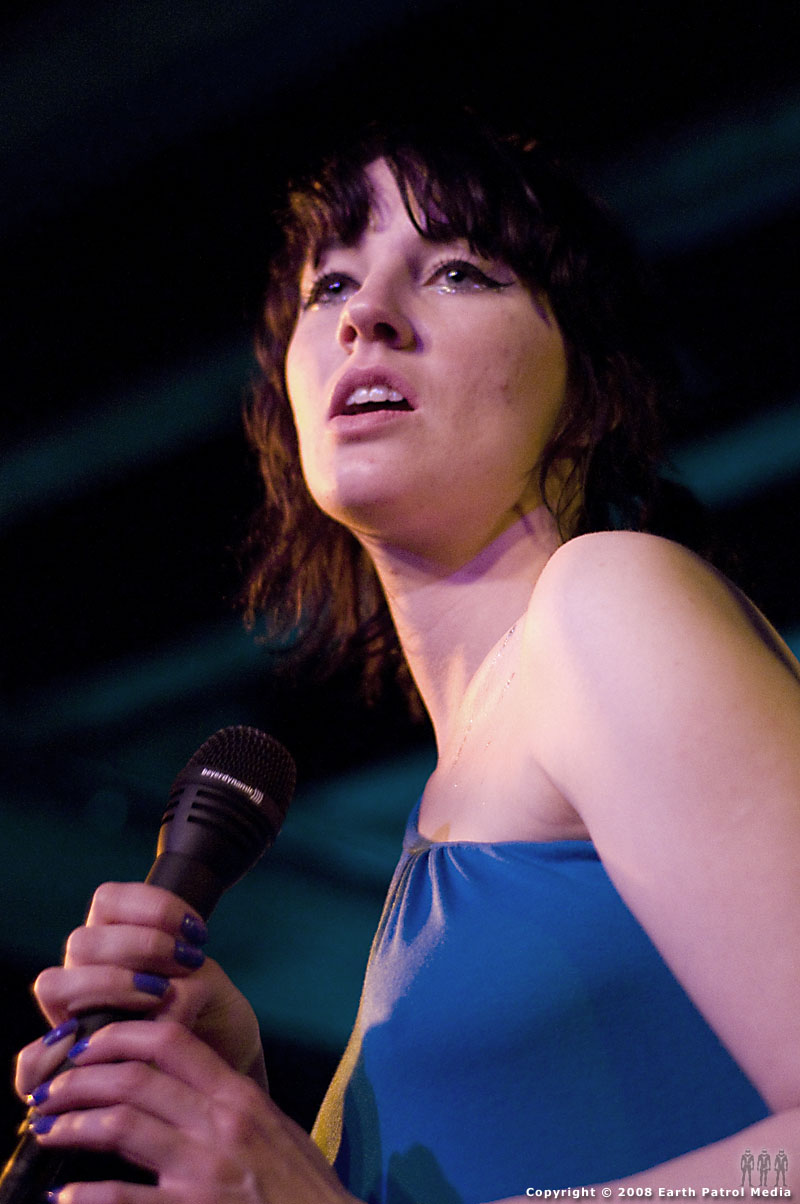 Kate Jackson - Long Blondes @ Doug Fir Lounge, Portland, Oregon