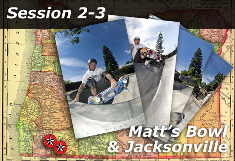 Matt's Bowl and Jacksonville Skatepark