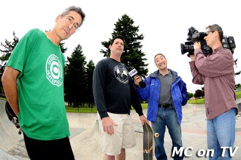 MC on KPTV
