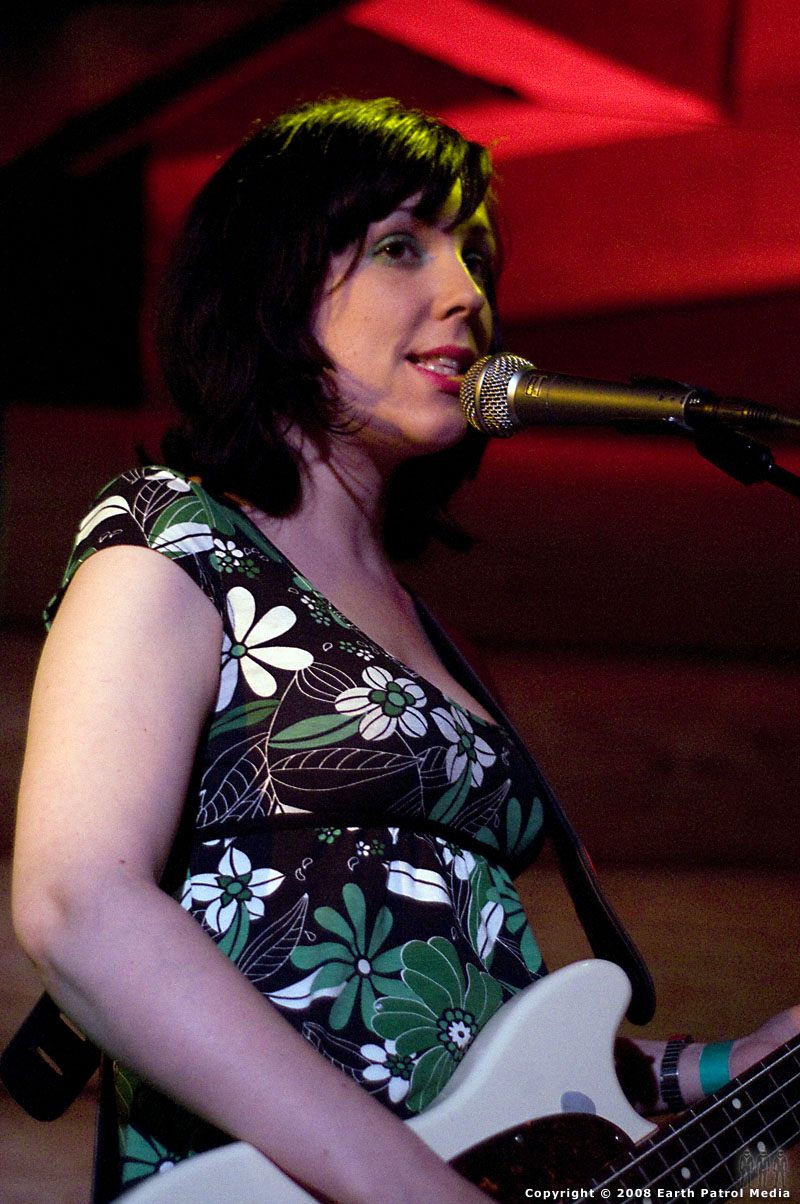 Reenie Hollis - Long Blondes @ Doug Fir Lounge, Portland, Oregon