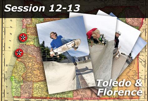 Florence and Toledo Skateparks