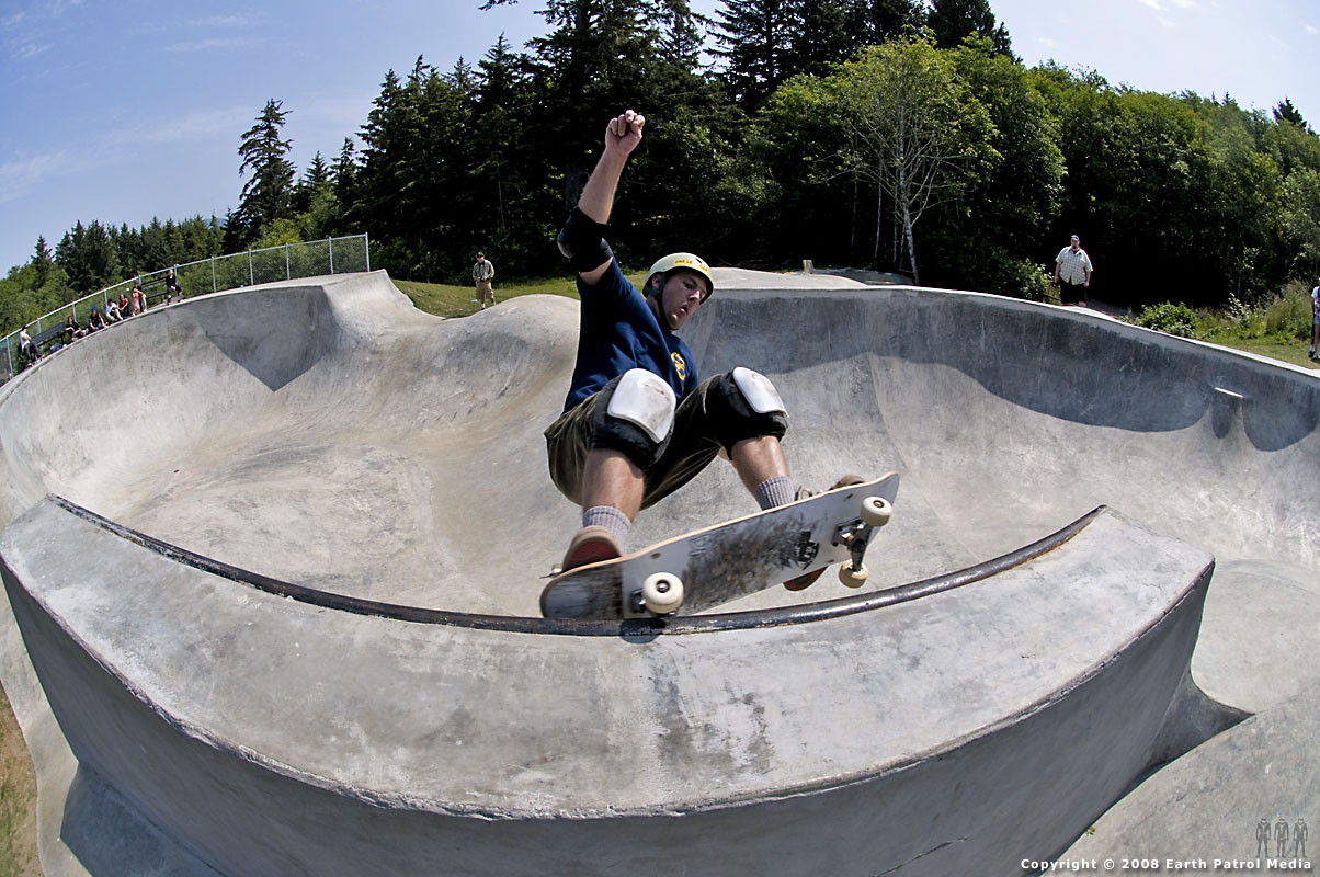 Tom - FS Grind @ Lincoln City