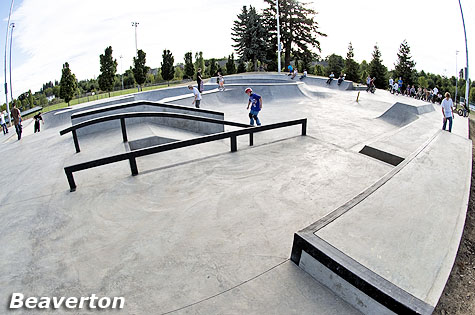Tualatin Hills Park and Recreation Skatepark