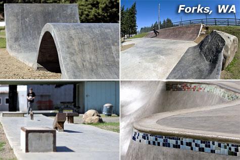 Forks, Washington Skatepark
