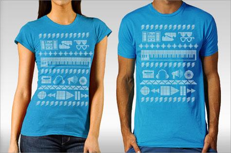 Electric Dance Sweater - The Art Robot