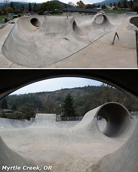 Myrtle Creek Skatepark