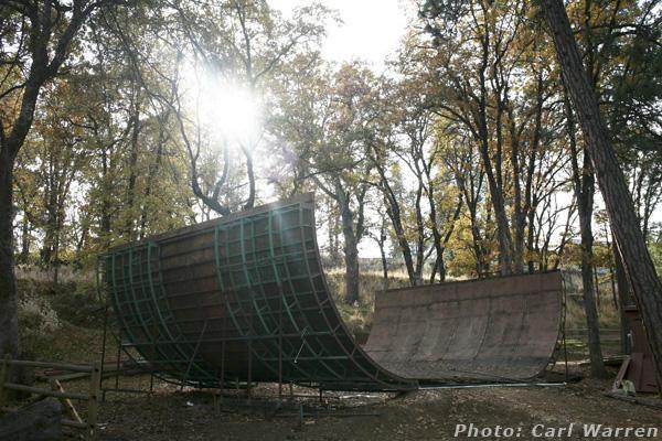 Vert Ramp Seperated @ Hood River