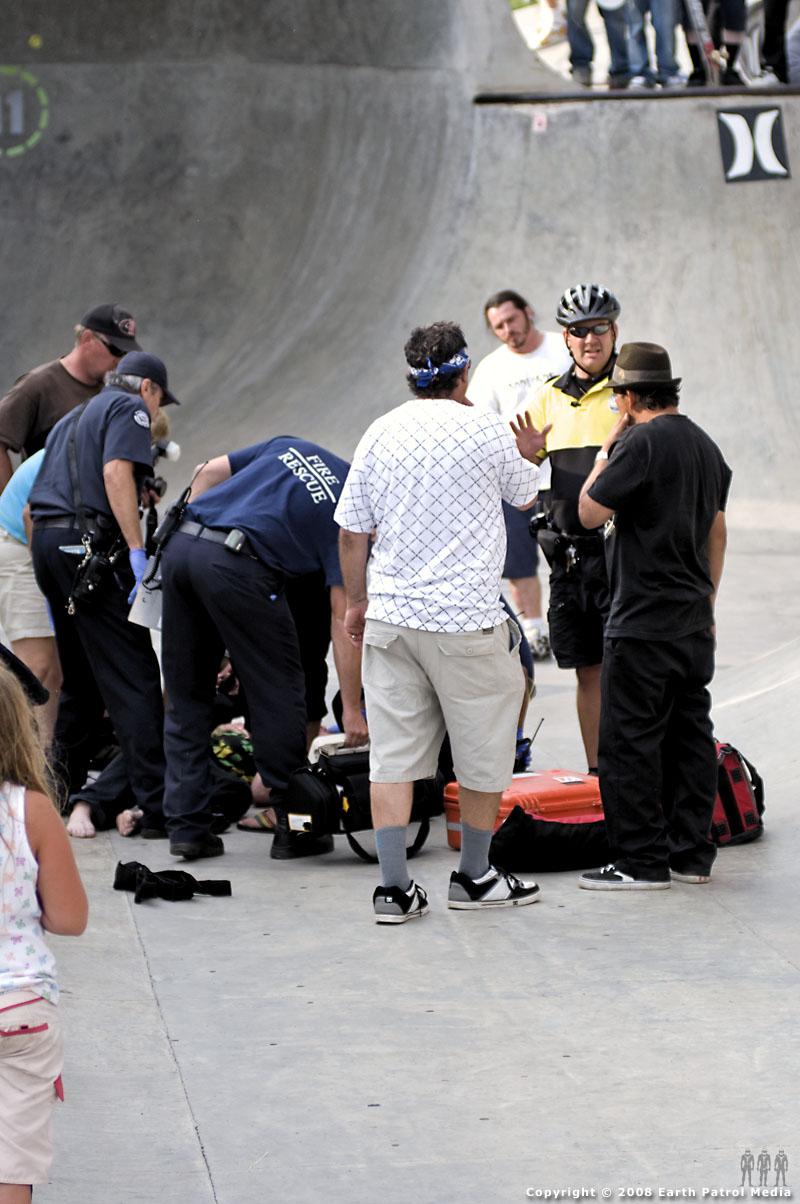 Emergency crew @ Battle Ground