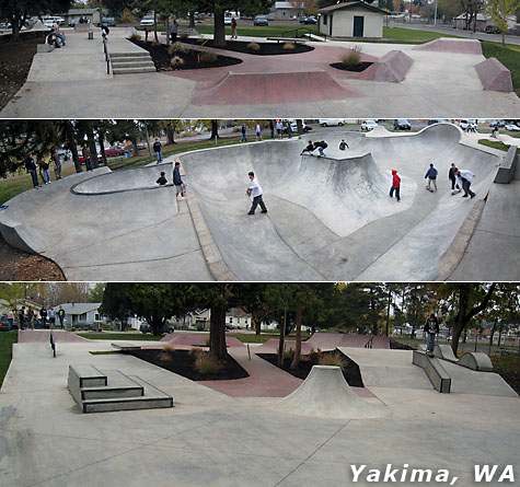 Yakima Washington Skatepark