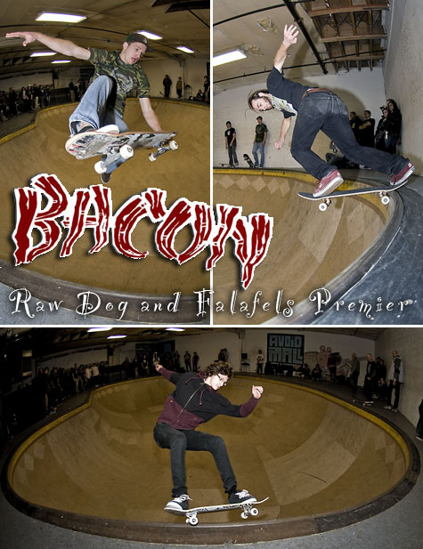 Bacon Skateboards Video Premier