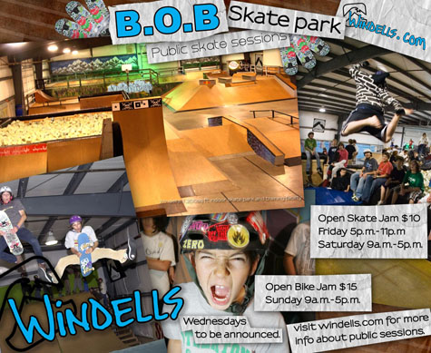Windells Weekend Skate and Holiday Camp