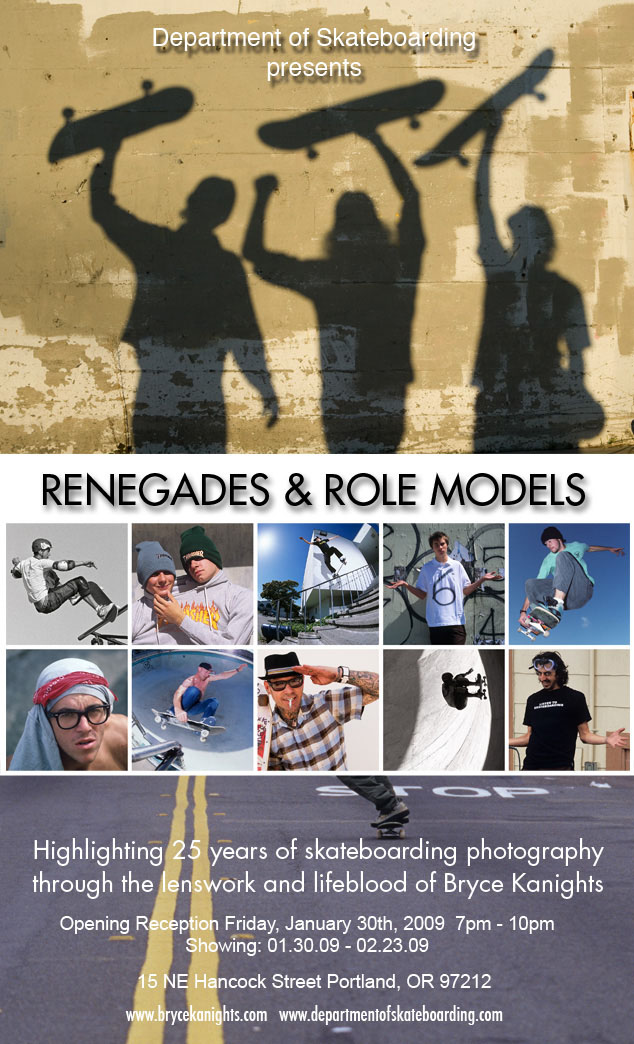 Bryce Kanights - Renegades and Role Models Show, Portland, Oregon