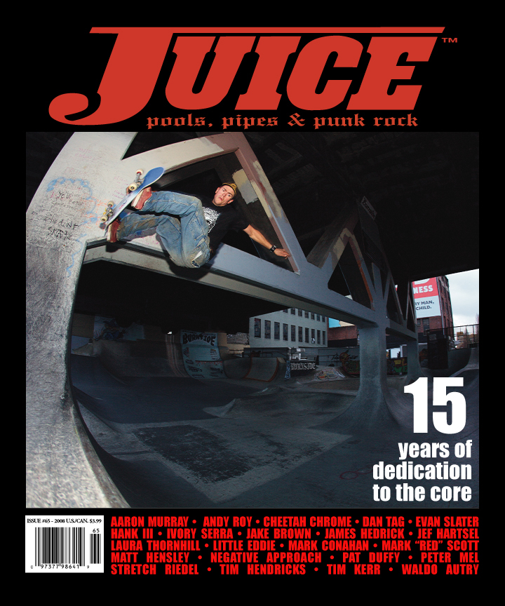 Juice Magazine 15th Year Anniversary Issue - Mark Scott