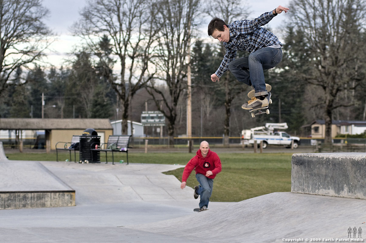 Kyle - Ollie Hip @ Battle Ground