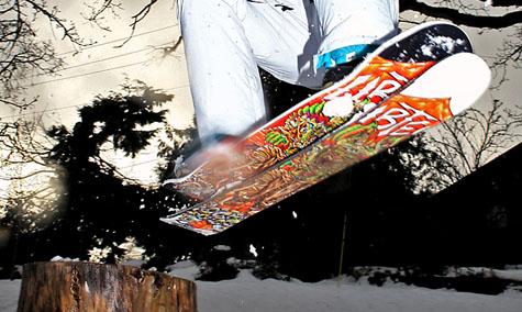 Mystery Snow Skater