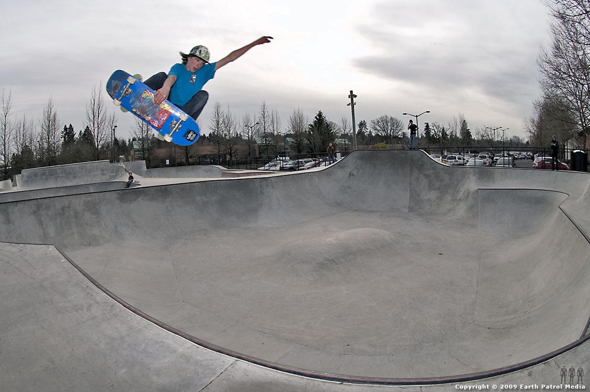 Chad - FS Hip Air @ Tigard