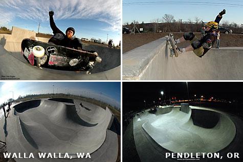 Dan Hughes in Walla Walla and Pendleton