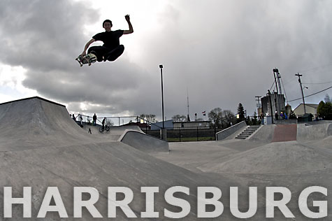 Harrisburg, Oregon - Skatepark by Dreamland Skateparks