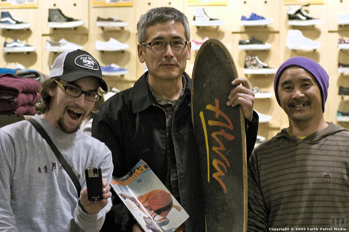 Shawn, Mark and Wally @ Tony Alva, Christian Hosoi Autograph Signing