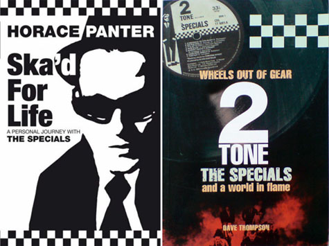 Ska'd for Life and Wheels out of Gear - Book Jackets