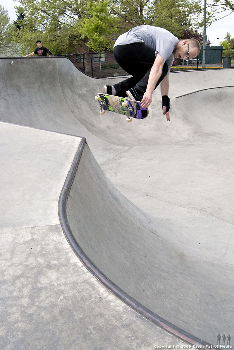 Marek - BS Hip Air @ Tigard