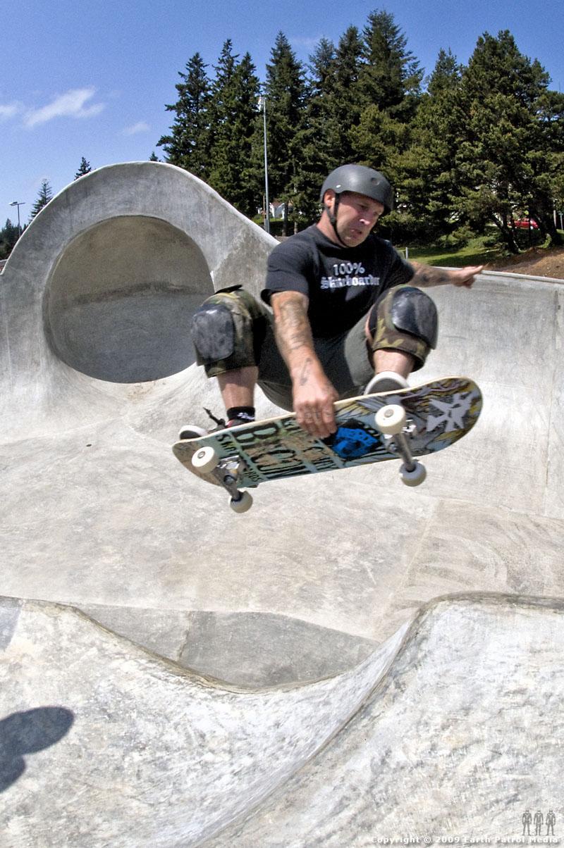 Matt - Frontside Hip-to-Hip Air @ Coos Bay
