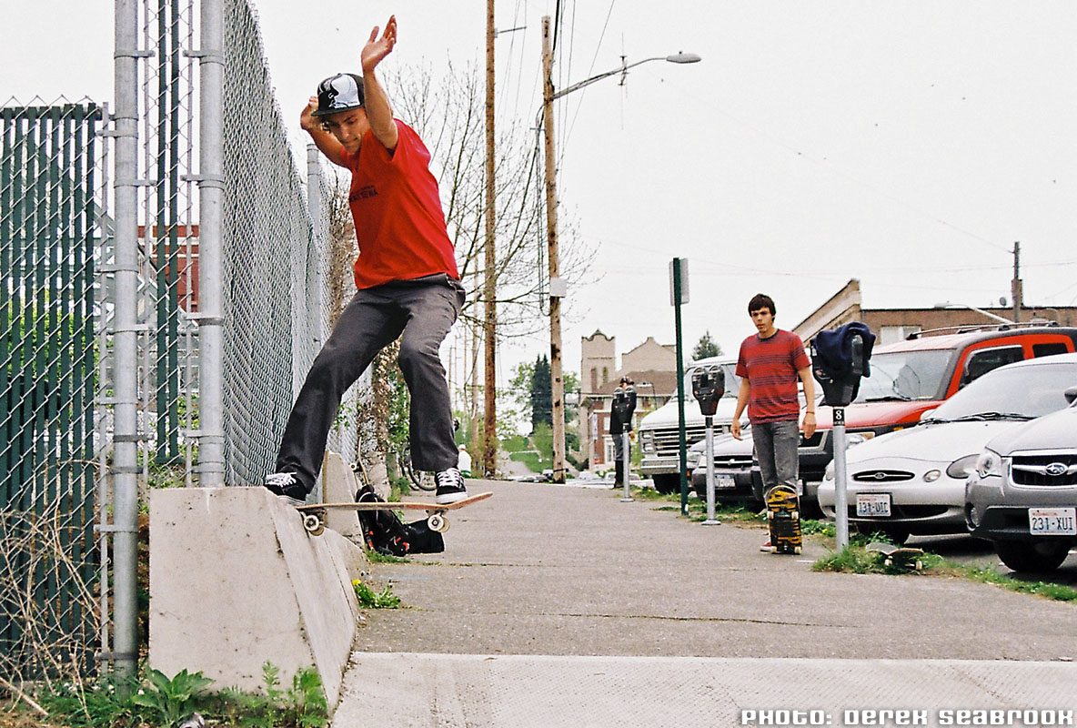 Zack - Tail Slide : Photo by Derek Seabrook