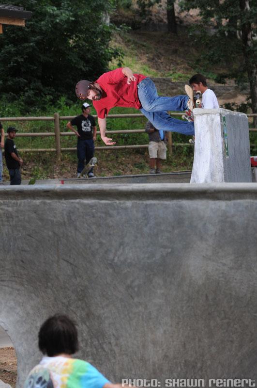 Colin @ Sleestock 2009, Hood River Skatepark