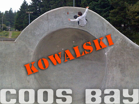 Kowalski over the Saucer Lip @ Coos Bay