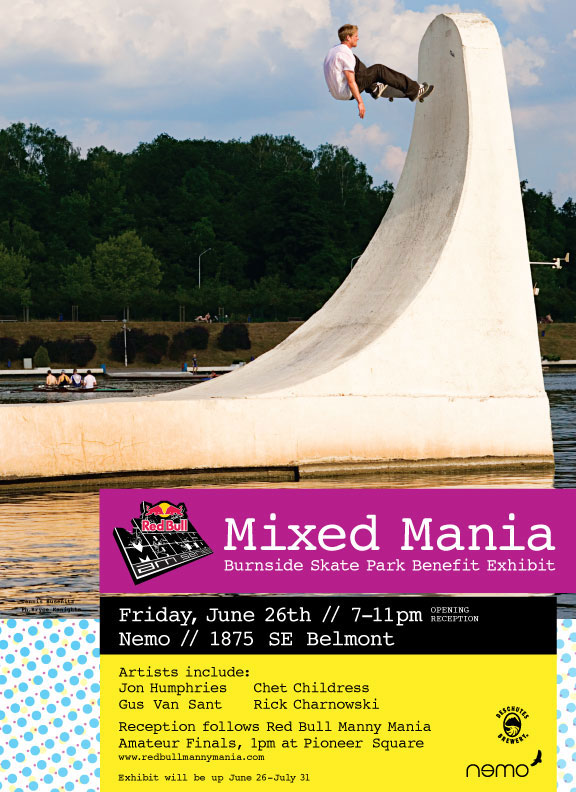 Manny Mania: Benefit for the Burnside Project - Portland, Oregon
