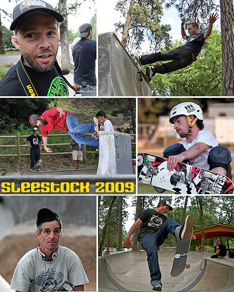 Sleestock 2009 @ Hood River Skatepark - Earth Patrol Network
